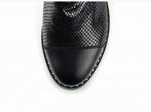 Ботинки натуральная кожа черный энгерик