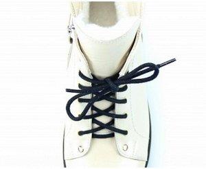 Ботинки натуральная кожа biege-pearl