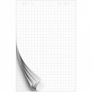 Блокнот для флипчарта OfficeSpace 67,5*98см, 10л., клетка, 80г/м2
