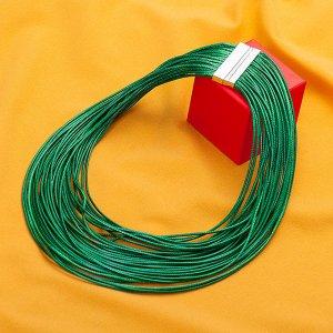 Колье из текстильных шнуров