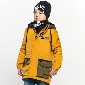 Куртка-парка для мальчика марки BOOM компании ORBY