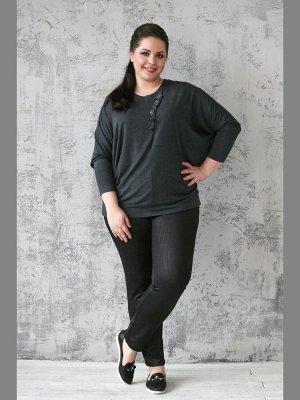 Блуза графит 64 на 68 размер