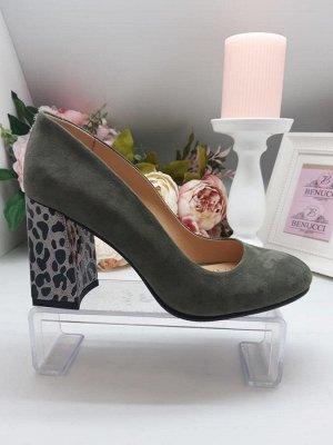 Туфли женские натуральная  замша(Турция)