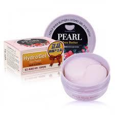 Гидрогелевые патчи для глаз Petitfee KOELF Pearl & Shea Butter Eye Patch, 60шт