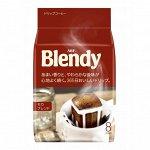 Кофе молотый AGF Бленди Маилд Мока 7г*8