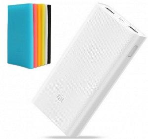 Цветной чехол для Xiaomi Power Bank 2C 20000 mAh