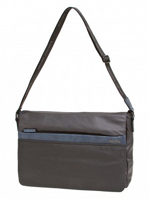 Мужская фирменная сумка-мессенджер Fran*cesco Mar*coni