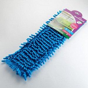 Насадка сменная из микрофибры для швабры Синель УЮТ-0002/Н1 голубая