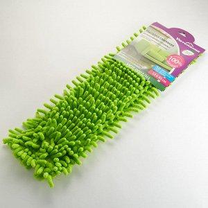 Насадка сменная из микрофибры для швабры Синель УЮТ-0002/Н1 зеленая