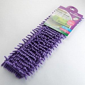 Насадка сменная из микрофибры для швабры Синель УЮТ-0002/Н1 фиолетовая