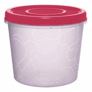 Емкость для продуктов с завинчивающейся крышкой 0,7 л GR1888СМ сладкая малина