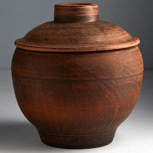 Горшок для запекания 0,5 л МАЛЫЙ (керамика) (ручная работа) АСЖ-17527