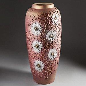 Ваза напольная 60см ДАНА АКРИЛ (керамика) (ручная работа) СКВ-6212