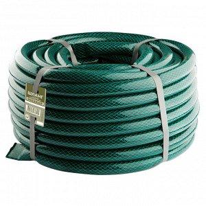Шланг поливочный ВОЕННЫЙ 12мм, 25м непрозрачный черно-зеленый