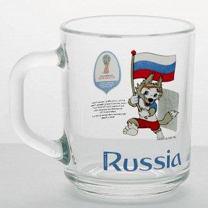 "Кружка 200 мл Green tea ""Забивака с флагом"" N7055"