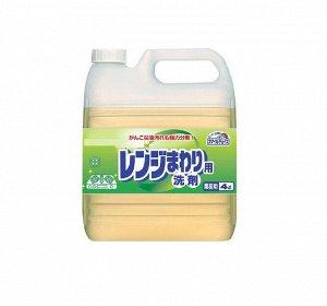 Чистящее средство для удаления жирных загрязнений с поверхностей плит, печей, кафеля, вытяжки, стен и виниловых полов