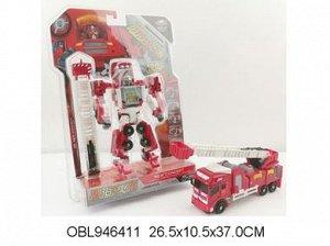 308-5 LR трансформер-пожарная маашина, на картоне 464119