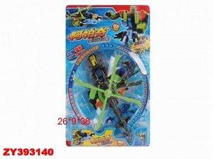91023 трансформер -вертолет, на картоне 393140