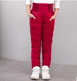 Утепленные штаны. ЦВЕТ ТЕМНО-КРАСНЫЙ