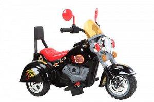 Мотоцикл на аккумуляторе для катания детей В19 (черный)