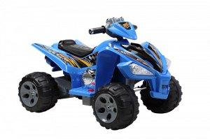 Квадроцикл на аккумуляторе для катания детей JS007 (синий)