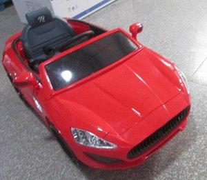 Машина на аккумуляторе для катания детей SL631 (красная)