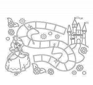 "Песочная ходилка ""Принцесса и замок"" арт.069"
