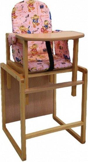 """Стол-стул для кормления """"Алекс"""" (розовый, СТД 0106)"""