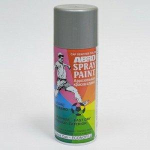 "Краска-аэрозоль ""ABRO"" Высокотемпературная Аллюминий , аэроз. 473гр (1/12 )"