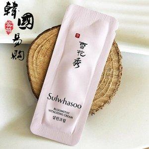 Sulwhasoo Bloomstay Vitalizing Cream Пробник крема для лица и глаз с антиоксидантами, 1мл (пробник)
