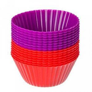 Силиконовые формы для кексов 16шт, 6.5X3.3СМ