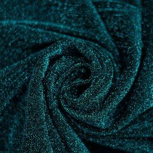 ткань,люрекс.цвет зеленый