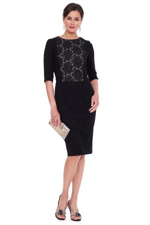 Женское платье, черное, р.52-54