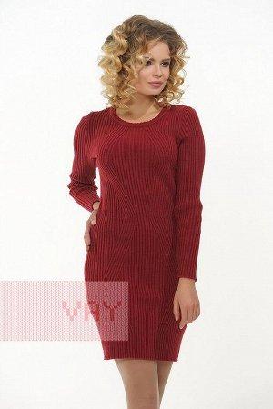 Платье женское. Цвет: 036 марсала