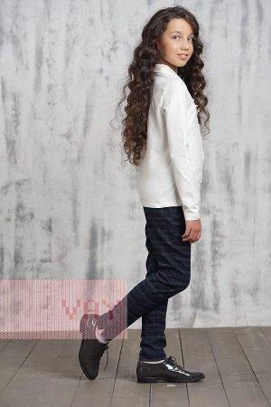 Блузка для девочек. Цвет: 30-х/б 2002 молоко