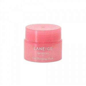 Laneige Ночная маска для губ с ягодными экстрактами миниатюра 3гр Lip Sleeping Mask Berry