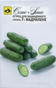 ТМ Семко Огурец партенокарпический Мадрилене F1/ гибриды с длиной плодов 6-12 см