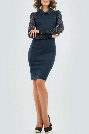 Платье 2166.47 темно синее