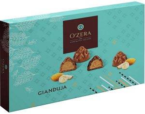 Конфеты фасованные «O`Zera» с начинкой из дробленого ореха. 225г