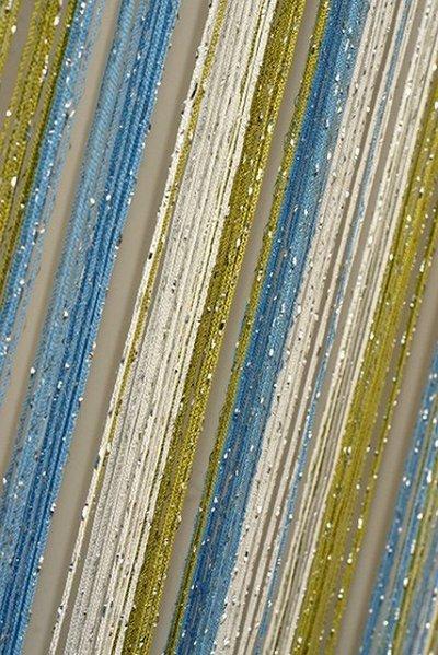 Нитяные шторы - Кисея! Огромный выбор, оптовая цена — Кисея дождь радуга — Шторы