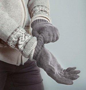 """Перчатки (23см полная длина, 19 см обхват ладони) """"Не бывает плохой погоды. Бывает неправильно подобранная одежда"""" - народная мудрость.  Перчатки из шерсти яка - это надежная защита ваших рук в холодн"""