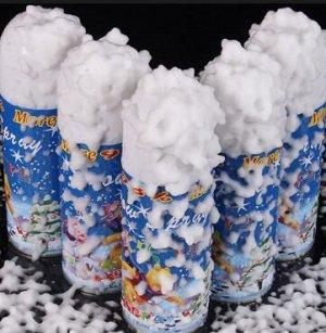 Снег-спрей На праздничном мероприятии спрейсоздаст эффект снегопада. Неожиданно появившийся снежок подарит всем участникам торжества ощущение настоящего праздника не доставив окружающим никакого неуд
