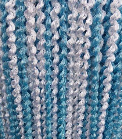 Нитяные шторы - Кисея! Огромный выбор, оптовая цена — Кисея спираль радуга — Шторы