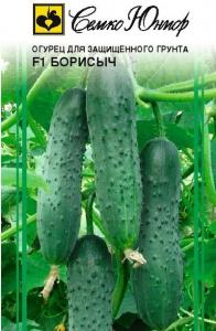ТМ Семко Огурец партенокарпический Борисыч F1/ гибриды с длиной плодов 12-24 см