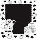 "Песочная рамка ""Дед мороз"" арт.662"