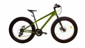 "TITAN Fat cat  24"" Fat bike T16B-802 (зеленый)"