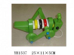 Игрушки деревянные: кузнечик YH1537 1428 (1/36)