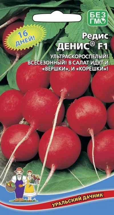 Семена 🍅 Уральский дачник 🍅 ваш богатый урожай! В наличии! — Редис — Семена овощей