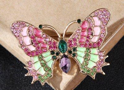 Универмаг товаров для все семьи —  Суперхиты: модные бабочки,жуки и стрекозы! — Броши