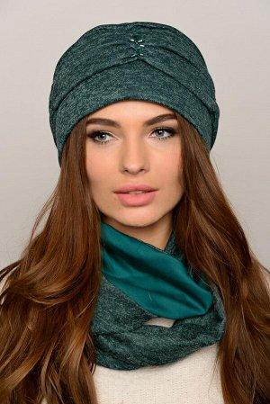 Красивая женская шапка